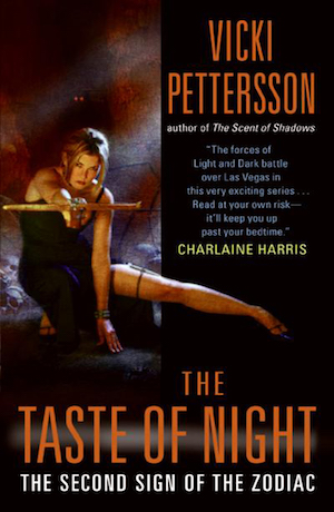 The Taste of Night (Signs of the Zodiac) by Vicki Pettersson
