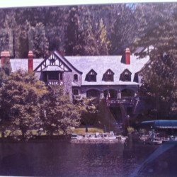 The inspiration home for the Hawthorne Estate in Lake Arrowhead. #swerve